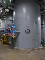 Geothermal water filtration system